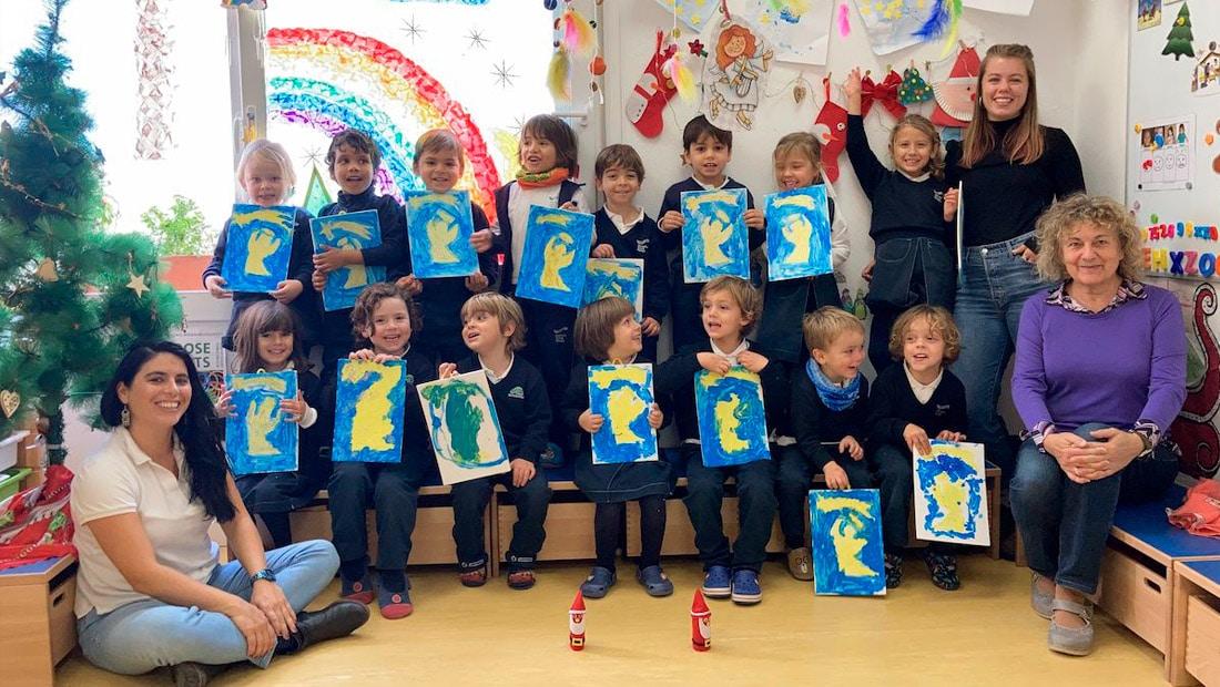 El Centro de Educación Infantil les desea Felices Fiestas
